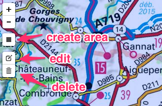 Define offline map