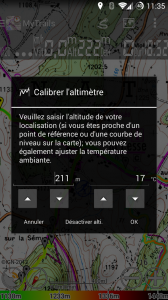 Calibration manuelle ou automatique