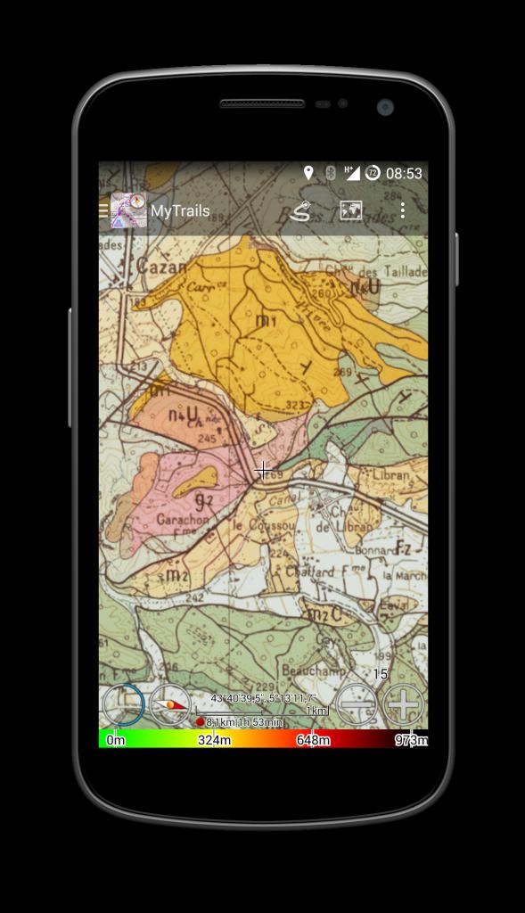 Carte géologie